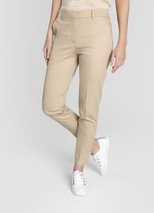 Зауженные брюки из сатинированного хлопка O`Stin 180499630299