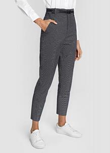 Жаккардовые брюки с поясом O`Stin 180130850299