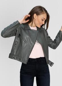 Куртка-байкер из искусственной кожи O`Stin 180147590299