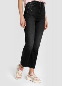 Прямые джинсы с высокой посадкой O`Stin 179920470299