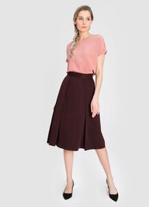 Структурная юбка А-силуэта O`Stin 180144020299