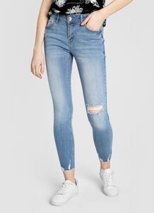 Суперузкие голубые джинсы O`Stin 179921310299