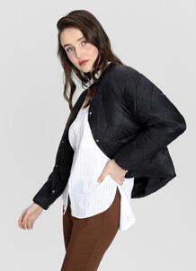 Лёгкая утеплённая куртка с воротником-гольф O`Stin 179881170299