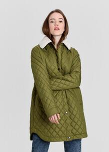 Куртка с воротником из искусственного меха O`Stin 179384340299