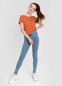 Суперузкие джинсы с высокой посадкой O`Stin 179471230299