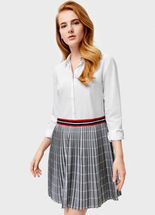 Платье-рубашка с плиссированной юбкой O`Stin 177490800299