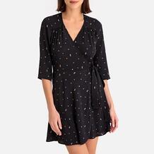 Платье с запахом с рисунком CHICACHI Sessun 350141660