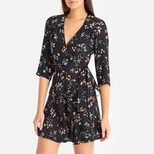 Платье с запахом с рисунком CHICACHI Sessun 350141664