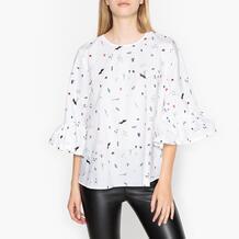 Блуза с воланами RITBULL Essentiel Antwerp 350123003