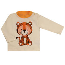 Джемпер Котмаркот Мой Тигр, цвет: бежевый 12246400