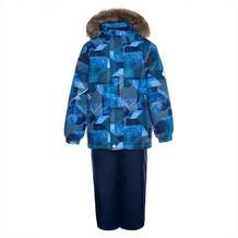 Комплект куртка/брюки Huppa Dante, цвет: синий 10868942