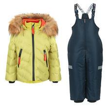 Комплект куртка/полукомбинезон Аврора Айсберг, цвет: зеленый/синий Avrora 11149742