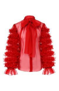 Шелковая блузка Dolce&Gabbana 10507642