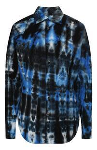 Хлопковая рубашка Dsquared2 10513855