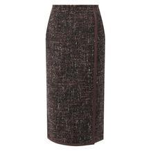 Шерстяная юбка Kiton 10421576