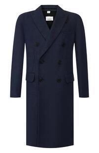 Пальто из смеси шерсти и кашемира Burberry 10401595