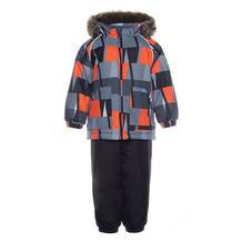Комплект куртка/полукомбинезон Huppa Avery, цвет: черный 11876038