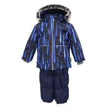 Комплект куртка/полукомбинезон Huppa Russel, цвет: синий 11876410