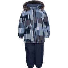 Комплект куртка/полукомбинезон Huppa Avery, цвет: хаки/серый 10866866