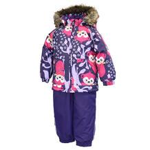 Комплект куртка/полукомбинезон Huppa Avery, цвет: фиолетовый 11876146