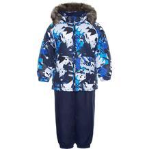 Комплект куртка/полукомбинезон Huppa Avery, цвет: синий 10866908