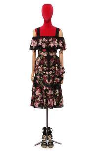 Шелковое платье Alexander McQueen 10377218