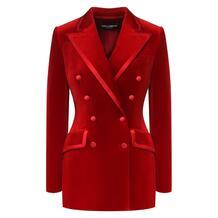 Бархатный жакет Dolce&Gabbana 8301544