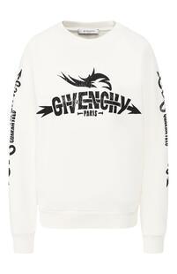 Хлопковый свитшот Givenchy 8207471
