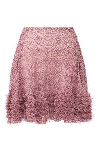 Шелковая юбка Stella Mccartney 10226145