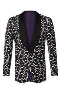 Шелковый пиджак Ralph Lauren 10019162