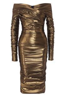 Платье с драпировкой Dolce&Gabbana 7660806
