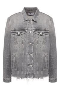 Джинсовая куртка 7 for all mankind 9188346