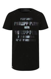 Хлопковая футболка PHILIPP PLEIN 9186974