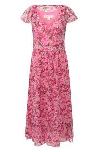 Платье с принтом Michael Michael Kors 9222177