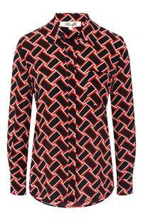 Шелковая блузка DIANE von FURSTENBERG 7392853