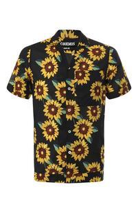 Хлопковая рубашка JACQUEMUS 9235442