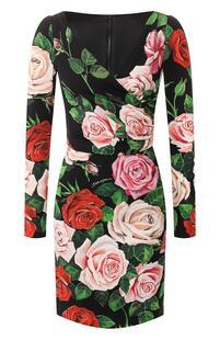 Шелковое платье Dolce&Gabbana 8522366