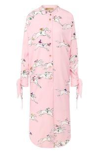 Шелковое платье Escada 9331496
