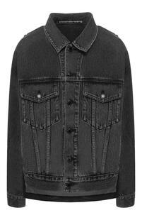 Джинсовая куртка Denim X Alexander Wang 9335255
