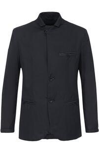 Куртка на пуговицах с отложным воротником Giorgio Armani 2183329