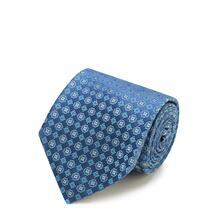 Шелковый галстук с узором Kiton 2036357