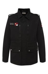 Хлопковая куртка Yves Saint Laurent 8968294