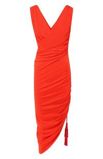 Платье с драпировкой Lanvin 8902627