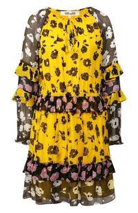 Платье с принтом DIANE von FURSTENBERG 8925608