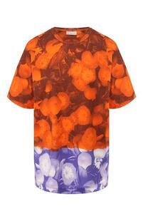 Хлопковая футболка Dries Van Noten 8955925