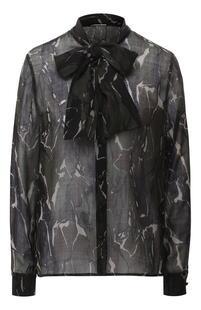 Шерстяная блузка Yves Saint Laurent 9000494