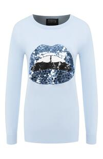 Хлопковый пуловер MARKUS LUPFER 9017791