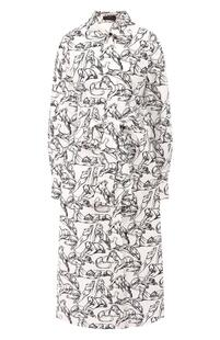 Хлопковое платье Chapurin 9038952