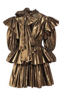 Платье с оборкой Dolce&Gabbana 8902116