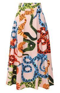 Хлопковая юбка Escada 9078096